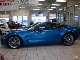 2010 Chevrolet Corvette ZR1 in Jetstream Blue Metallic photo #3 ...
