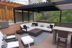 Roof deck furniture Rooftop Custom Outdoor Furniture Aomuarangdongcom Roof Deck And Garden Design And Build Firm In Denver Colorado
