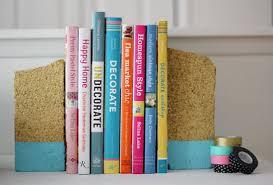 DIY brick bookends (cheap & easy!)