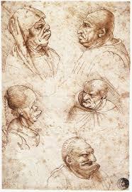 Leonardo Da Vincis Bizarre Caricatures Monster Drawings Open