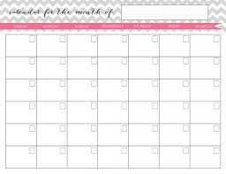 28 Images Of Monthly School Calendar Template Cute
