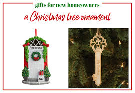 Gifts For New Homeowners   Personalized Christmas Tree Ornament.