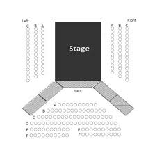 Oc Inlet Parking Lot Seating Chart Seating Chart Picture Of Clear Space Theatre Rehoboth