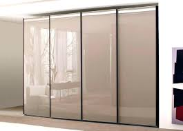 sliding closet door ideas smoked glass sliding wardrobe doors frosted glass sliding closet doors frosted glass