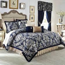 damask bedding set black