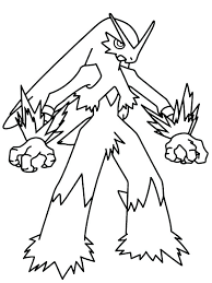 Legendary Pokemon Printable Coloring Pages