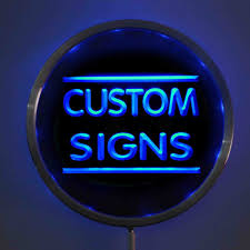 Neon Sign Custom Design Us 19 99 Round Custom Led Neon Signs 25cm 10 Inch Design Your Own Circle Led Signs With Rgb Multi Color Remote Wireless Control In Plaques Signs