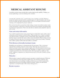 skills for a medical assistant medical assistant resume template templates word cv samples no