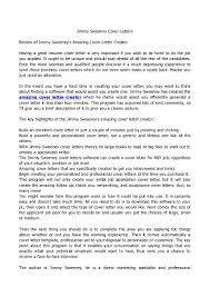 resume cover letter creator samples of cover letters for cover letter jimmy sweeney cover letter jimmy sweeney cover jimmy sweeney cover letters resumes the program