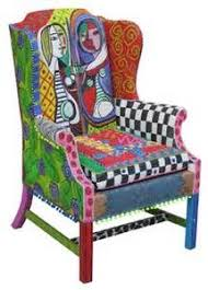 whimsical painted furniture132 best Whimsy images on Pinterest  Painting Drawings and Funky