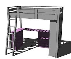 Today, we are going to finish up the loft bed plans by adding two small  bookcases and a desktop. I actually designed this plans so that it's really  one ...