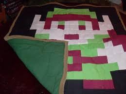 8-Bit Link quilt my friend made. : zelda & 8-Bit Link quilt my friend made. Adamdwight.com
