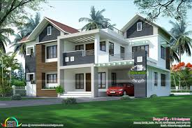 modern mixed roof home 2984 sq ft