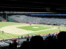 Globe Life Seating Chart Globe Life Park In Arlington Section 116 Home Of Texas Rangers