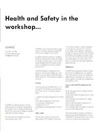 Health And Safety For Design Technology In Schools Teach Design Magazine Issue 4 By Teach Design Issuu