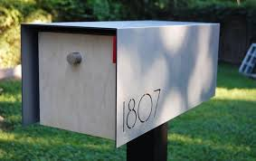 modern mailbox etsy.  Mailbox Modern Mailbox Etsy Delightful On Other With Regard To Best Mid Century  Ideas All Home Designs K