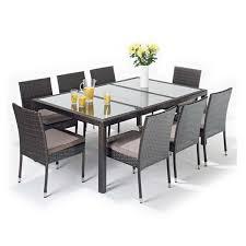 malibu 8 seater patio furniture set. garden furniture 8 seater patio set protector - rectangular cover 295cm malibu