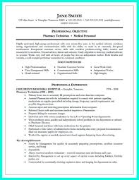 Pharmacy Technician Resume Skills Beautiful Awesome What Objectives