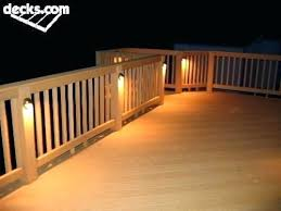 decking lighting ideas. Solar Deck Lighting Ideas Outside Need To Remember Lights Outdoor Decking N