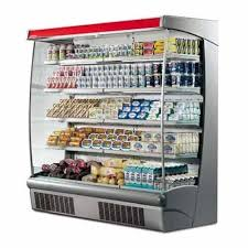 Stand Up Display Fridge Custom Supermarket Refrigeration Open Display Chiller Manufacturer From