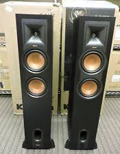 klipsch vf 36. item 1 klipsch r-26pf powered floorstanding speakers 260w (black) **pair** - vf 36 s