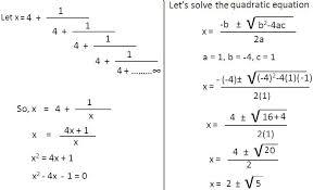 worksheet on quadratic equations