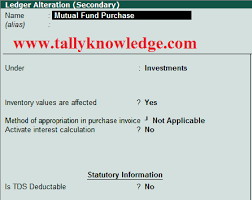 mutual fund accounting how to manage mutual fund accounting in tally erp9 tally knowledge
