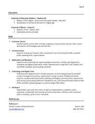 resume - Librarian Assistant Job Description