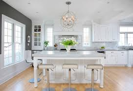 paper white paint colorWhite and Gray Kitchen  Home Bunch  Interior Design Ideas