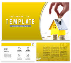 How To Save Money For A House Powerpoint Template