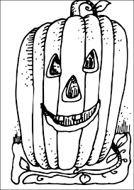 Nice Jack O Lantern Coloring Pages