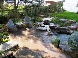 Patio Ideas  Patio Stone Ideas With Pictures Flagstone Patio Backyard Patio Stones
