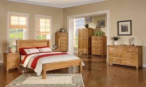 Beautiful Bedroom With Unique Wood Furniture (Image 2 of 10)