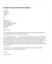 Graduate Cover Letter Examples Application Letter For Job Fresh Graduate Cover Letter Resume