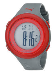 puma men s pu910961003 fit red lcd watch best selling puma puma men s pu910961003 fit red lcd watch