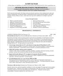 Recruiter Resume Examples Best Of Sample Resume Bullet Points Tierbrianhenryco