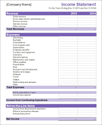 Excel Financial Statement 32 Financial Statement Templates Pdf Doc Free
