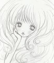 女の子の イラスト 下絵 ガールズイラストレーター Shiho の