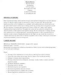 Resume For Physical Therapist Physical Therapist Resume Template Bitacorita