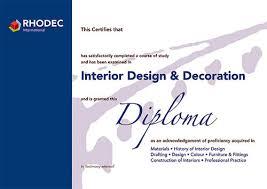 Диплом rhodec international Европейская Школа Дизайна