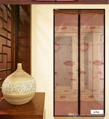magnetic soft screen door has self close function close in place and is the best choice of preventing insects magnetic screen door gives you a noise free