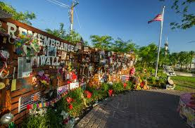 as many of you know we have been actively working on designing and fundraising for a new permanent remembrance wall in the lv community healing garden