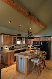 Log Cabin Kitchen Home Show Pinterest Log Cabin Kitchens - Kitchens and more
