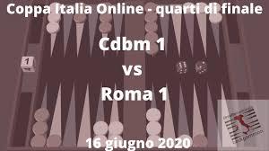 Coppa Italia Online Quarti di finale - Match Cdbm 1 - Roma 1 - YouTube