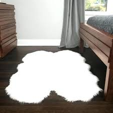 faux fur rug white faux fur rug soft and plush quad pelt white faux sheepskin faux fur rug fur white