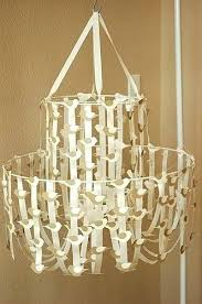how to make a paper chandelier paper chandelier wax paper chandelier fresh fresh how to make