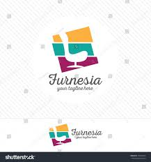 Home Furnishing Logo Design Abstract Furniture Logo Design Concept Symbol And Icon Of