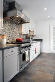 designer allison mccowanu0027s budgetfriendly kitchen also exemplifies the gray transitional color scheme photo trends in kitchens 2013 c60 kitchens