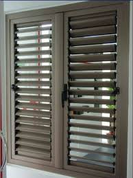 image louvered window shutters