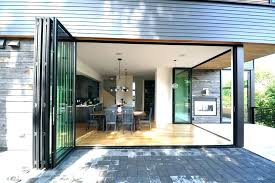 exterior glass accordion doors folding glass doors exterior best of accordion patio and we sliding intended